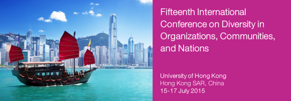 2015 International Conference on Diversity in Organizations, Communities & Nations